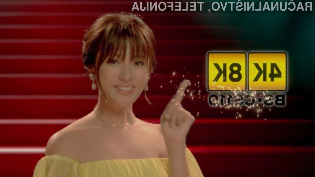 Japonci so kot prvi na svetu dobili televizijski program v ločljivosti 8K.