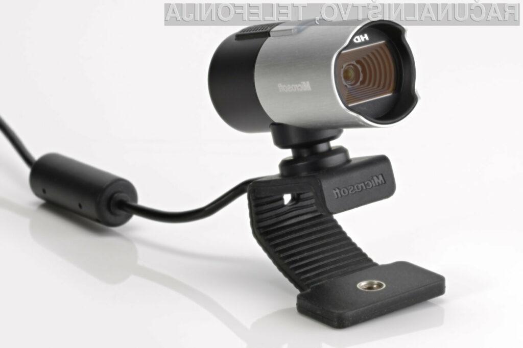 Podjetje Microsoft naj bi imelo velike načrte na področju spletnih kamer.