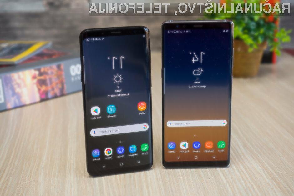 Novi Android 9 Pie se odlično prilega pametnima mobilnima telefonoma Samsung Galaxy S9 in Galaxy S9+.