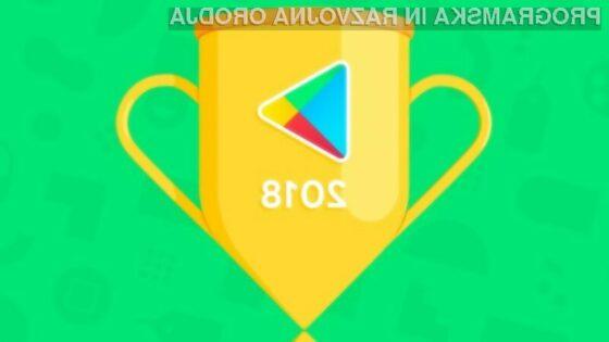 """Trgovina Google Play objavila lestvico """"Best of 2018"""""""