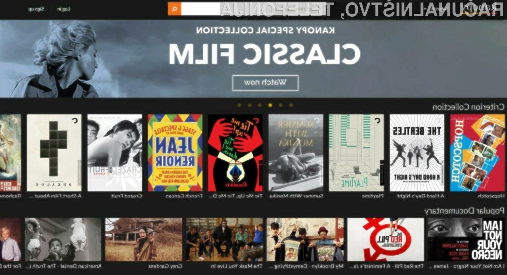 Platforma za gledanje filmov, za katero niste vedeli, da obstaja