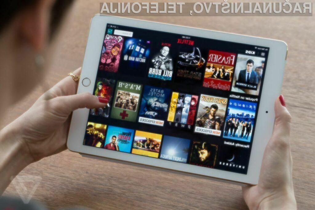 Naročniška razmerja na Netflix ni mogoče več sklepati preko mobilnih aplikacij.