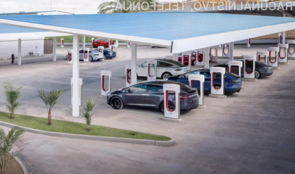 Hitre električne polnilne postaje Tesla Supercharger bomo našli v vseh evropskih državah.