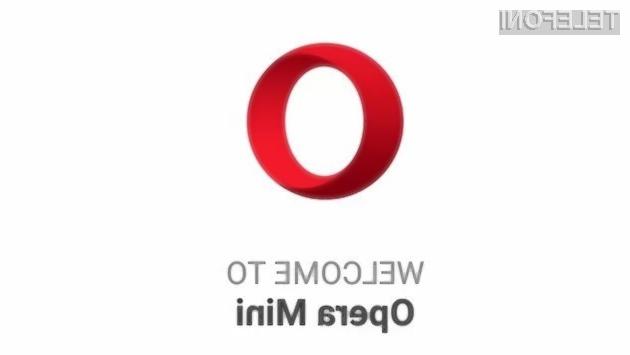 Mobilni spletni brskalnik Opera Mini je postal še boljši in uporabnejši.