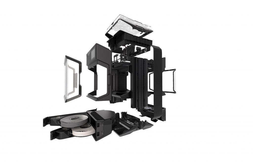 MakerBot je predstavil prvi perfomance 3D tiskalnik - Method