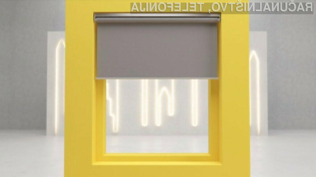 Pametna okenska senčila IKEA bo mogoče kupiti že v mesecu aprilu.