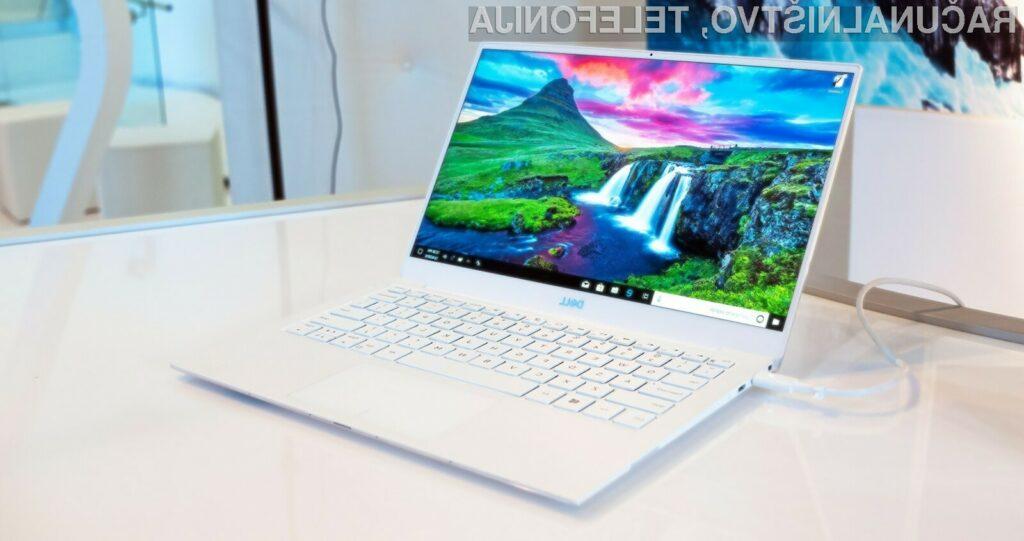 Dell XPS 13 Developer Edition (9380) ima nameščen operacijski sistem Ubuntu.