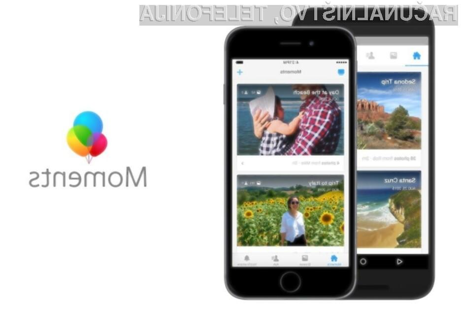 Mobilna aplikacija Facebook Moments nam bo na voljo le še do 25. februarja letos.