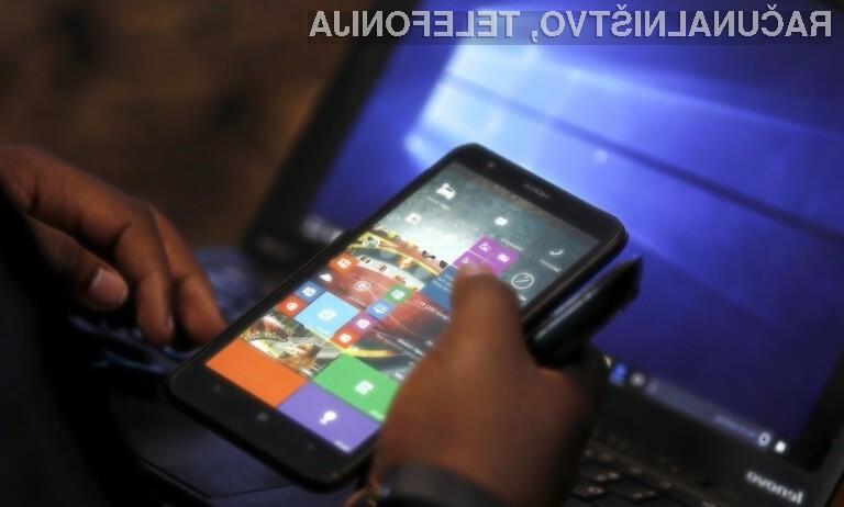 Windows 10 Mobile bo ugasnil 10. decembra letos.