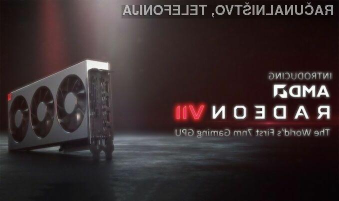 Grafična kartica AMD Radeon VII bo nedvomno razveselila ljubitelje računalniških iger.