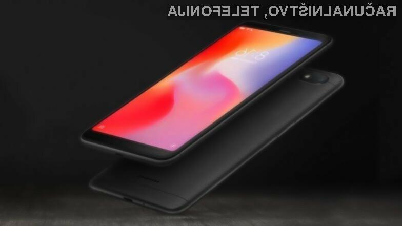 Pametni mobilni telefon Xiaomi Redmi Go bo na voljo še pred pomladjo.