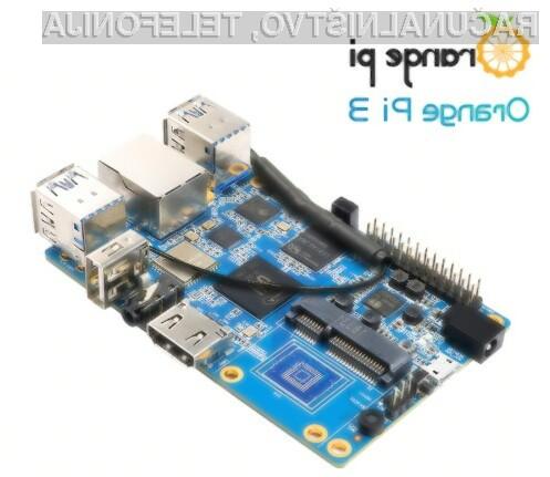 Na kompaktnem računalniku Orange Pi 3 lahko med drugim poganjate tudi Android in Linux.