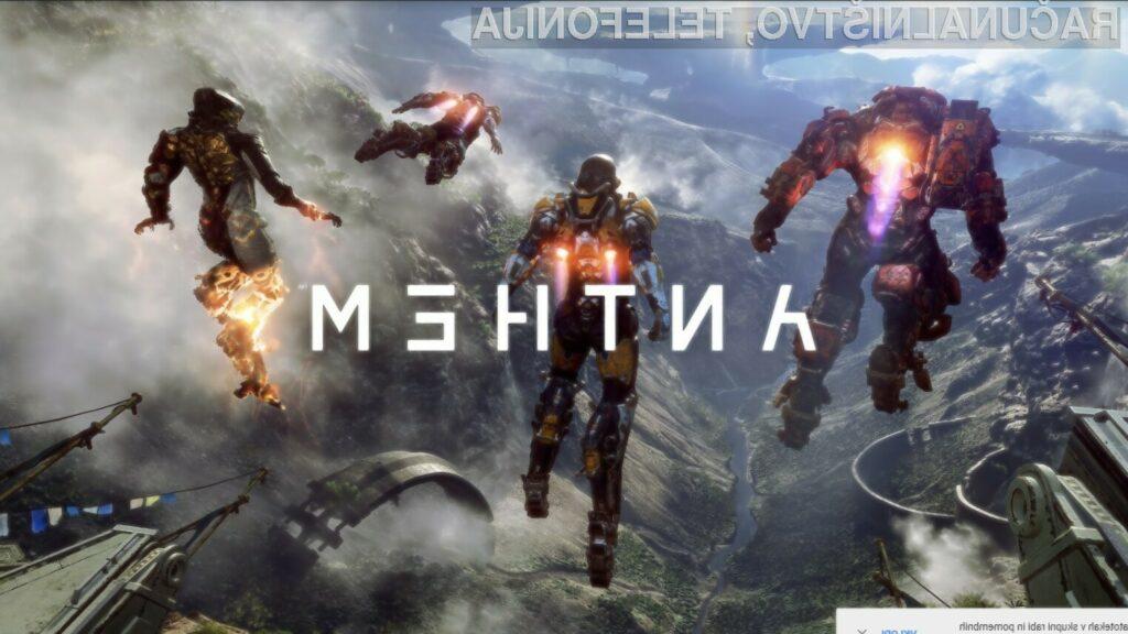 Anthem je možno igrati samostojno ali z do tremi soigralci.