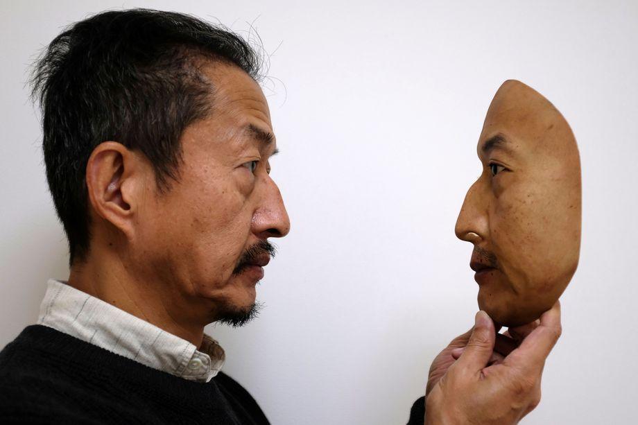 Japonsko podjetje Real-f proizvaja osupljive realistične 3D-maske