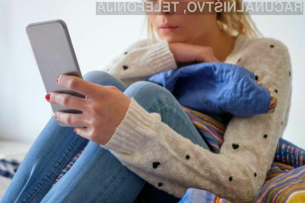 Nepravilna uporaba družbenih omrežij vodi v slabo počutje in celo depresijo.