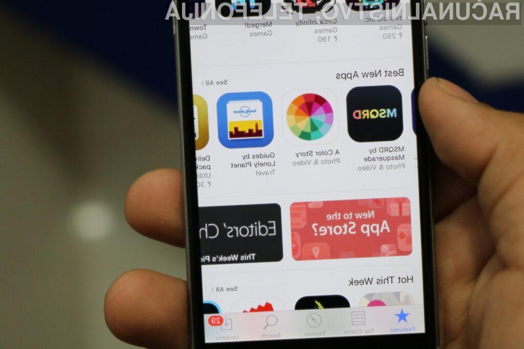 Apple je v 11-ih letih med razvijalce aplikacij razdelil 120 milijard ameriških dolarjev