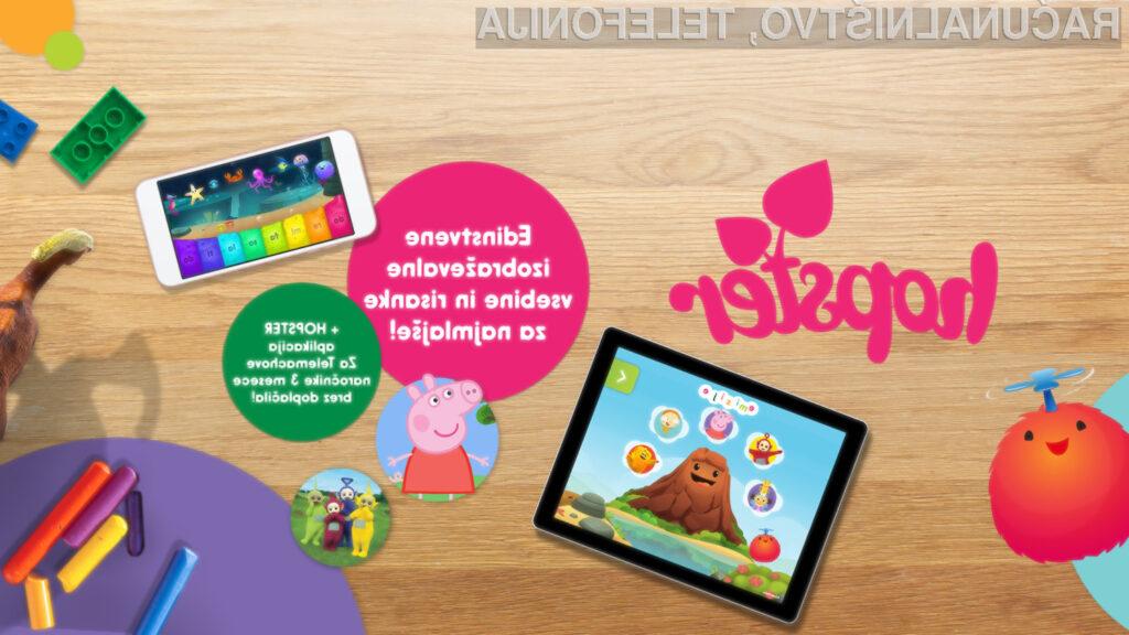 Telemach združuje zabavo in učenje z aplikacijo Hopster in risankami za najmlajše