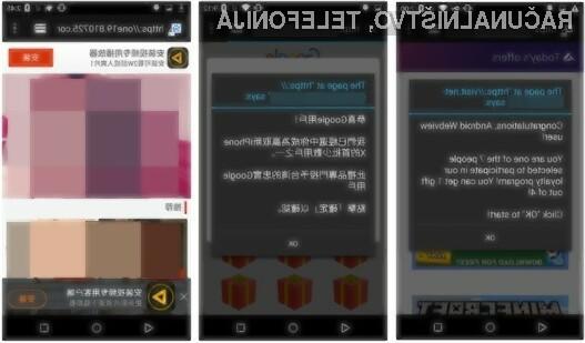 Okužene mobilne aplikacije so bile iz spletnega portala Google Play prenesene več kot štiri milijone krat.