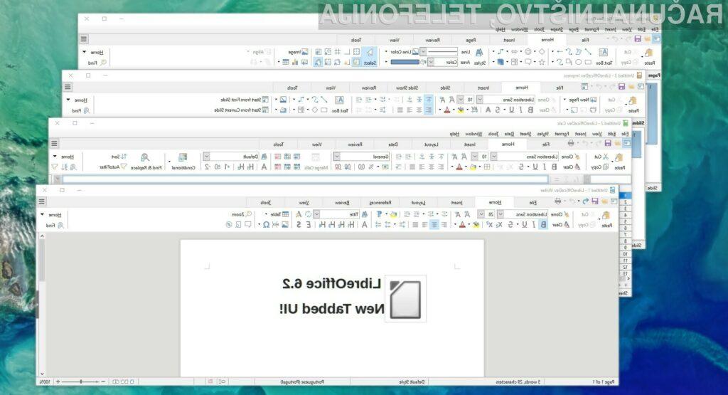 Novi LibreOffice 6.2 je še boljši in uporabnejši.