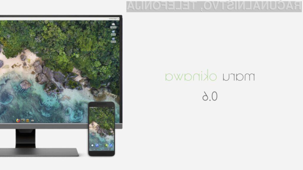 Mobilni operacijski sistem Maru OS 0.6 bo vaš mobilni telefon prelevil v mobilni osebni računalnik.
