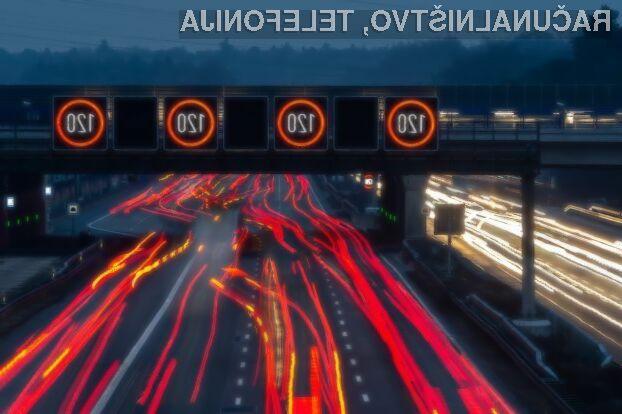 Prehitre voznike bi lahko zaustavljala posebna tehnologija