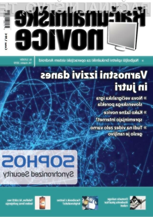 Nova številka revije: Varnostni izzivi danes in jutri