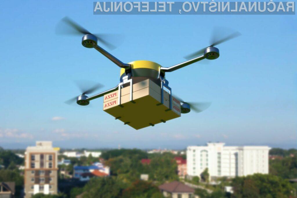 Dostava paketov z droni je v Združenih državah Amerike postala že nekaj povsem običajnega.