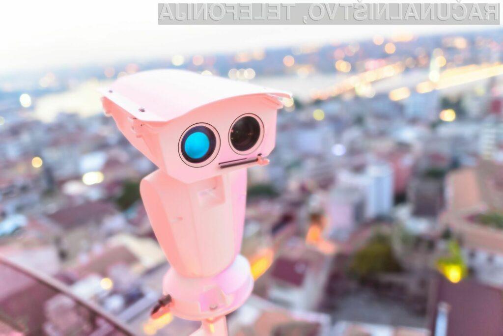 Število pametnih nadzornih kamer s tehnologijo prepoznavanja obrazov se bo v prihodnjih letih zagotovo povečalo.