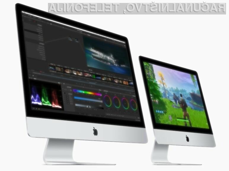 Pri podjetju Apple so se odločili za temeljito prenovo osebnih računalnikov iMac.