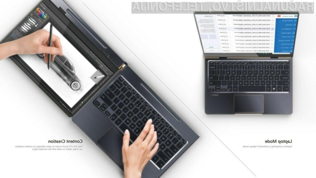 Prenosni računalnik Compal DuoFlip je resnično nekaj posebnega.