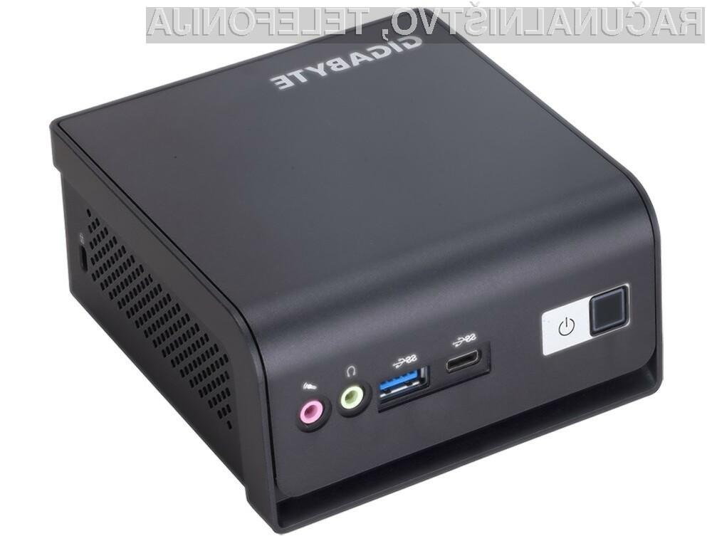 Novi računalniški sistemi Gigabyte BRIX se ponašajo tudi z nekoliko spremenjeno obliko ohišja.