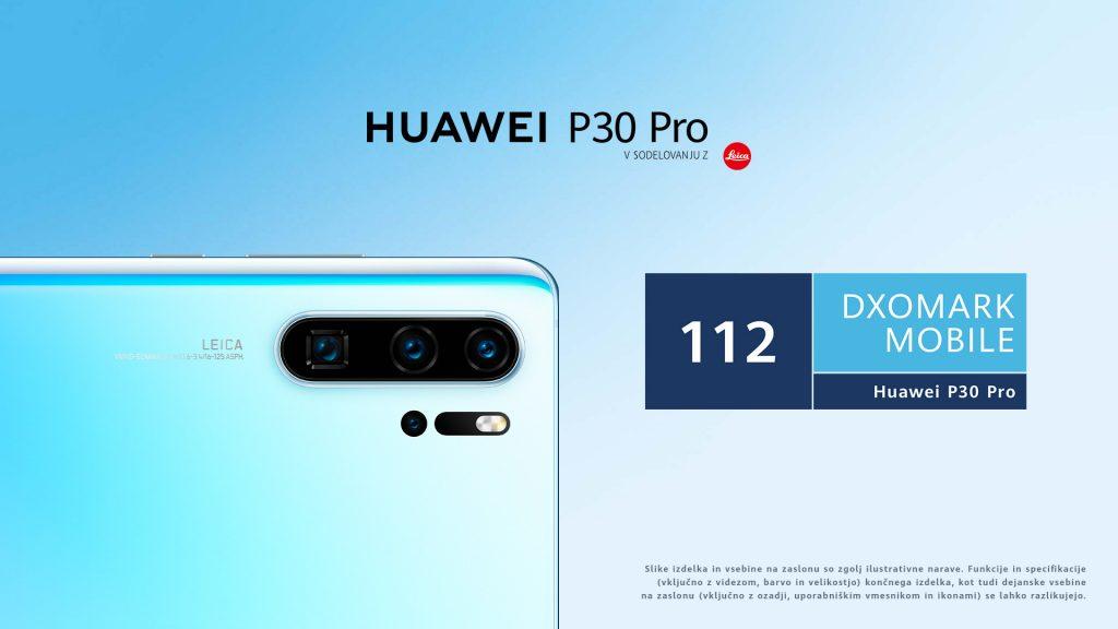 Huawei P30 Pro ima najboljšo kamero med vsemi telefoni