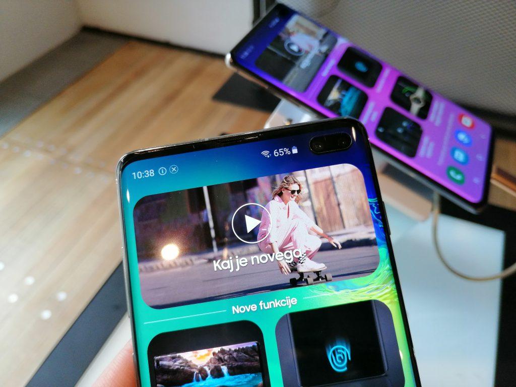 Samsung Galaxy S10e, S10 in S10+ predstavljeni tudi v Sloveniji