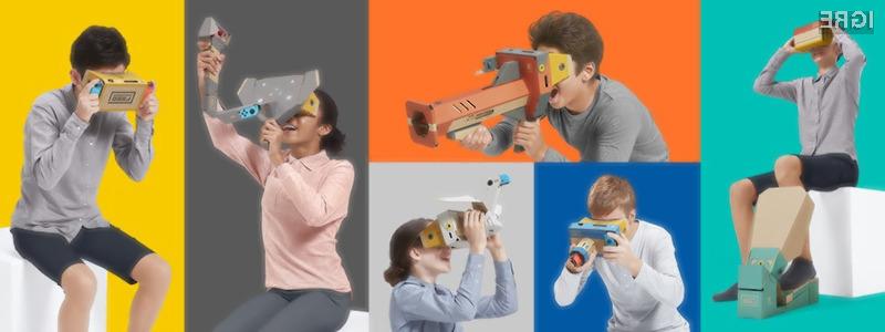 Očala za navidezno resničnost Nintendo Labo VR Kit bodo zagotovo nekaj posebnega.