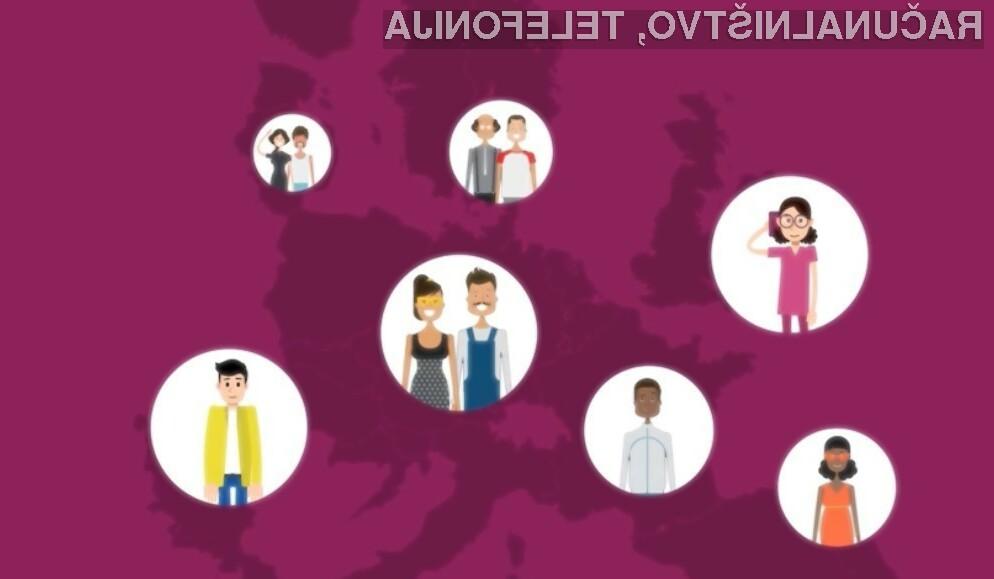 Najvišja cena za mednarodne klice bo omejena na 19 evrskih centov na minuto.
