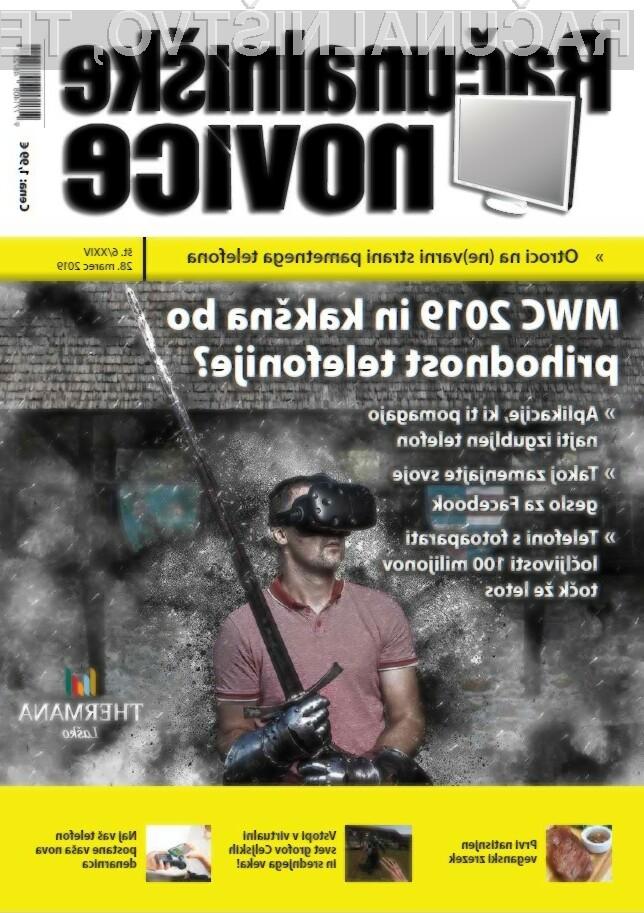 Nova številka revije: MWC 2019 in kakšna bo prihodnost telefonije?
