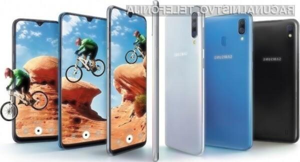 Novi Samsung Galaxy A40 bo za relativno malo denarja ponujal veliko.