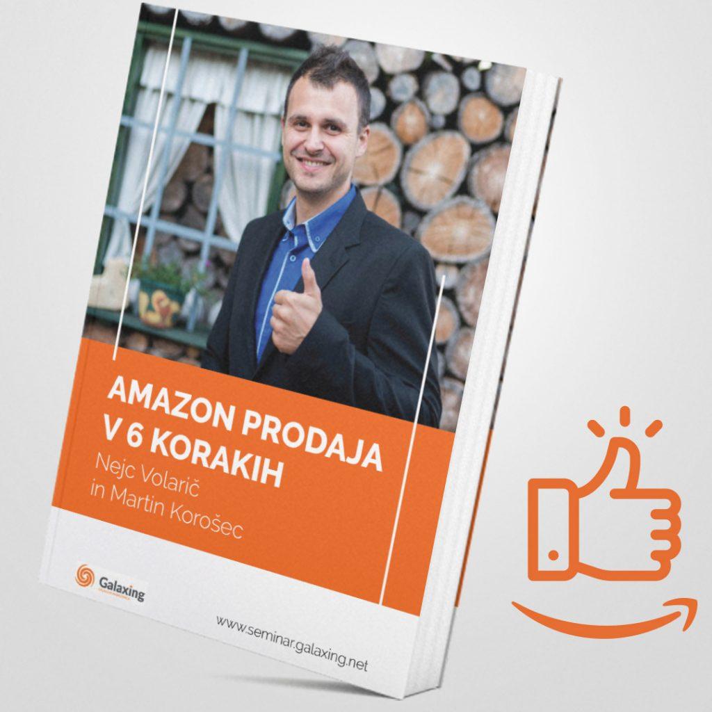 6 korakov do 10.000 mesečnega prometa na Amazonu - primer iz Slovenije