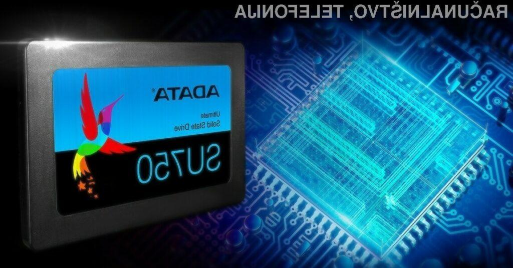 Novi pogoni Solid State družine Ultimate SU750 podjetja ADATA za malo denarja ponujajo veliko.