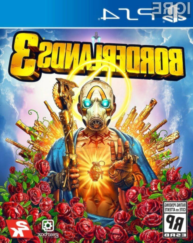 Borderlands pač ne bi bil Borderlands brez odbite naslovnice.