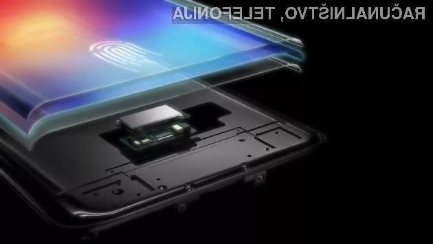 Bralnik prstnih odtisov vgrajen neposredno v zaslon mobilne naprave prinaša vrsto prednosti.