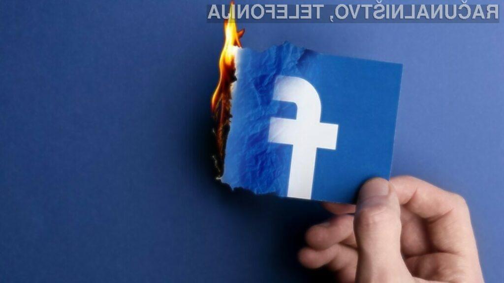 Facebook vam sledi tudi v primeru, ko je vaš uporabniški račun ukinjen.