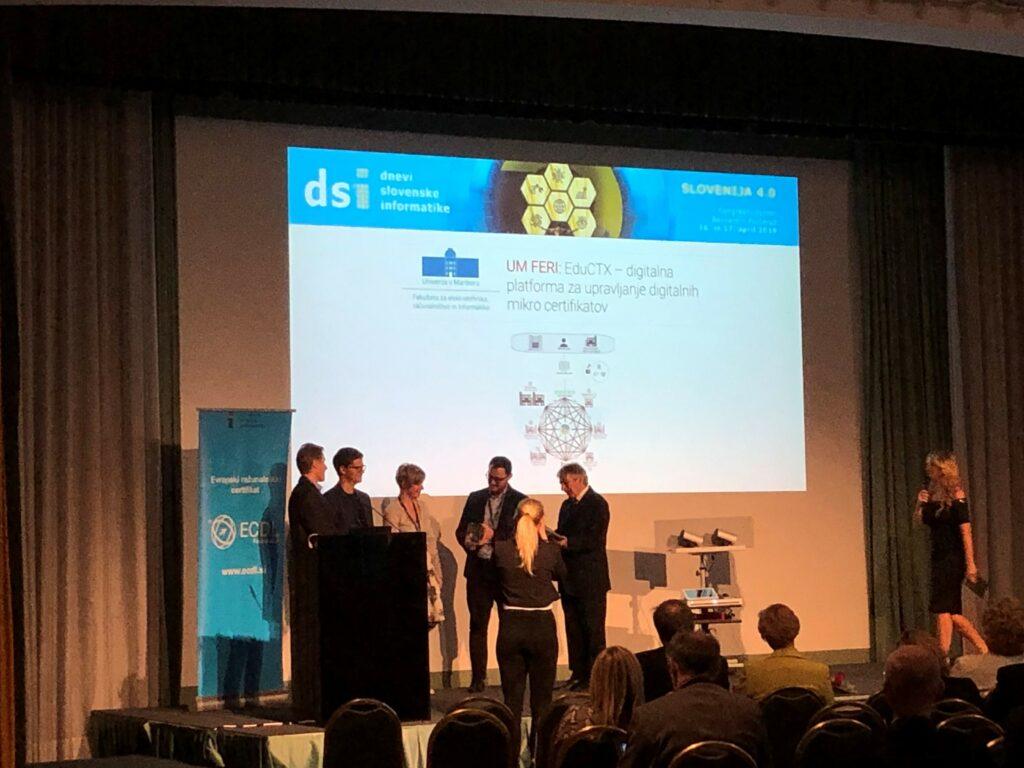 eNagrada SDI za leto 2019 platformi EduCTX