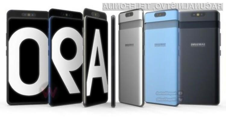 Prihajajoči Samsung Galaxy A90 bi prinesel zvrhan koš novih tehnologij!