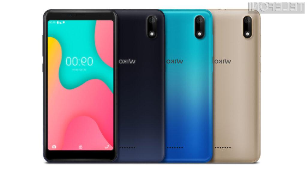 Francoski telefon Wiko Y60 je primeren predvsem za manj zahtevne uporabnike.
