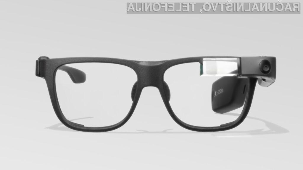 """Pametna očala Google Glass so nazaj: boljša, hitrejša in manj """"piflarska"""""""