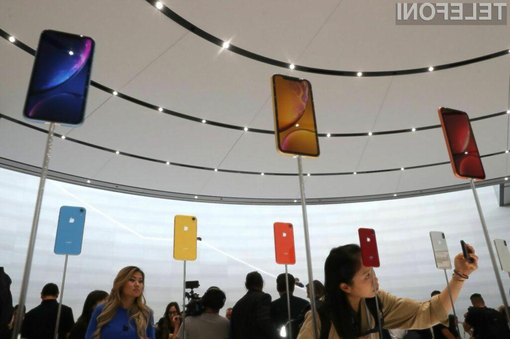Avtonomija pametnega mobilnega telefona iPhone XR je kar polovica manjša od navedene.