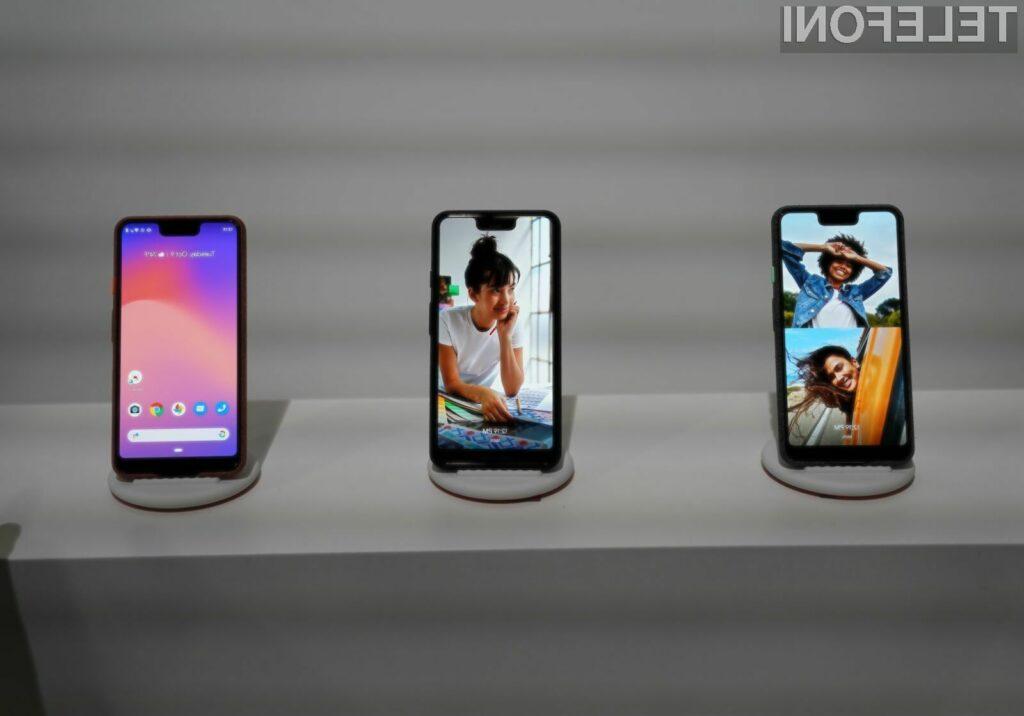 Nova pametna mobilna telefona Google Pixel naj bi bila cenovno precej bolj dostopna.