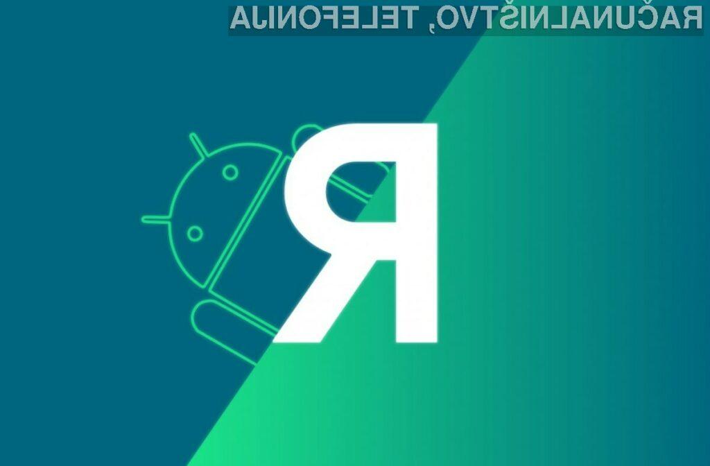 Android R naj bi bil nared za preizkušanje čez slabo leto dni.