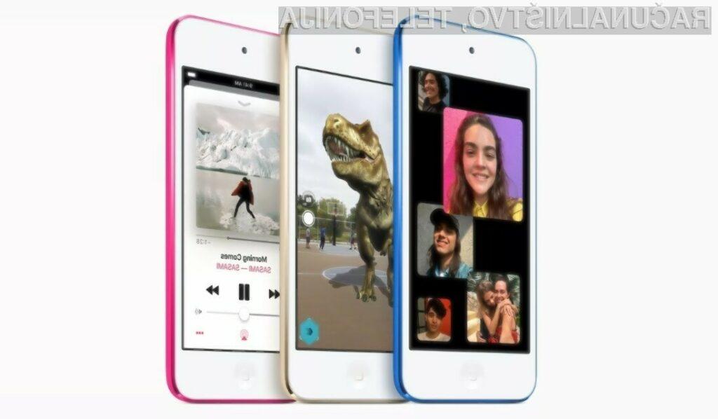 Večpredstavnosti predvajalnik Apple iPod Touch je po štirih letih le doživel prenovo.